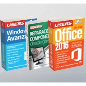 Pack Windows 10 avanzado (+Rep Comp DC + Office 16)