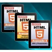 Colección HTML 5 Avanzado (3 volúmenes - ebooks)