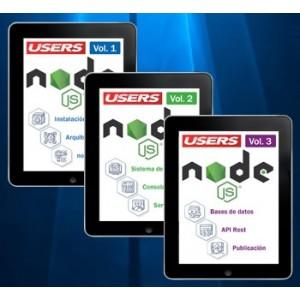 Colección Node JS (3 volúmenes - ebooks)