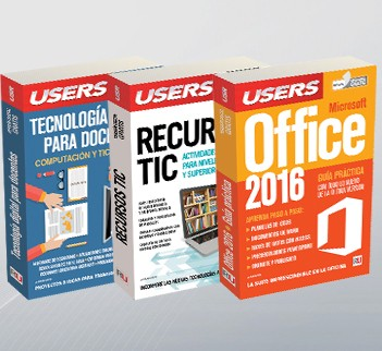Pack Tecnología y educación 2 (Tec Docente + Rec TIC + Off 2016)