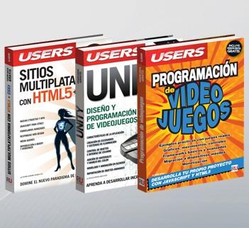Pack 2 Programacion Videojuegos (+Unity +SitiosMultiplataforma)