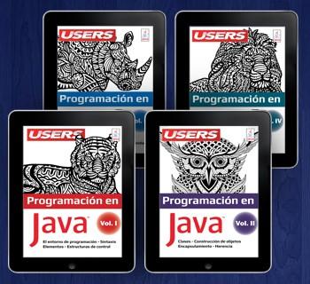 Colección Programación en Java (4 volúmenes - ebooks)