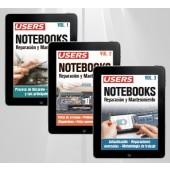 Colección Notebooks, Reparación y Mantenimiento (3 volúmenes - ebooks)